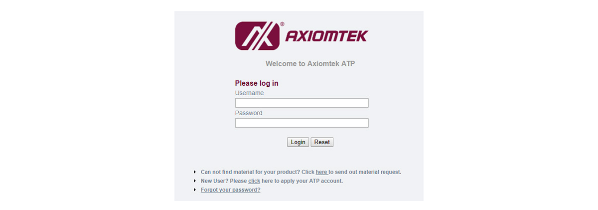 Axiomtek Technical Portal